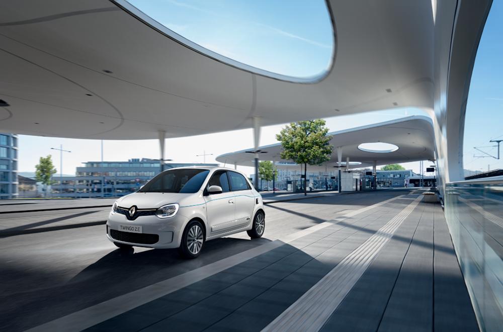 A Gama de Viaturas 100% elétricas Renault 7