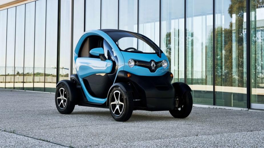 A Gama de Viaturas 100% elétricas Renault 1