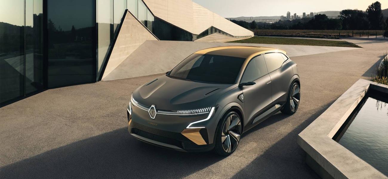 Renault Mégane eVision: O futuro elétrico da Renault